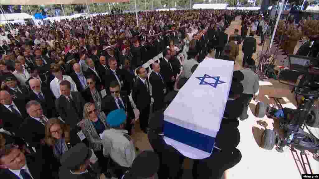 Похороны Шимона Переса. Иерусалим, 30 сентября 2016 года.
