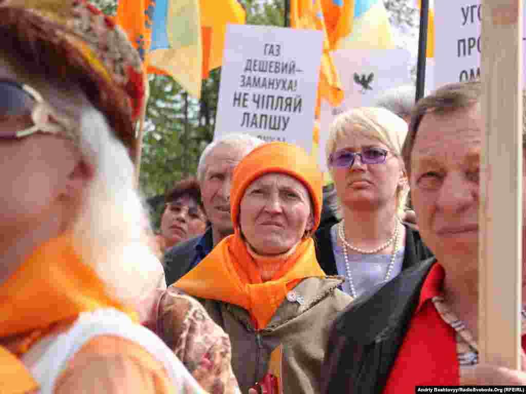 Партія «Наша Україна» ухвалила також резолюцію щодо початку безстрокової кампанії «Владу під контроль!».