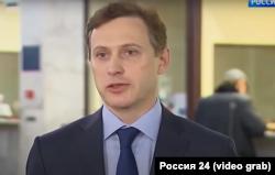 Александр Ганов дает интервью каналу «Россия 24», ноябрь 2019 года