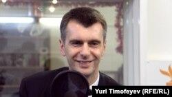 Один из кандидатов в президенты России Михаил Прохоров