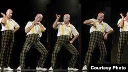 Трајче Ѓорѓиев, пантомимичар.