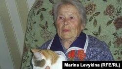 17 жасында Штутгарт әскери заводындағы лагерьде тұтқын болған Екатерина Головко. Семей, 7 мамыр 2012 жыл.