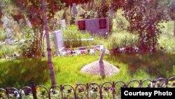 Одно из кладбищ в Ташкенте.