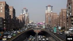 Pamje nga një pjesë e Teheranit