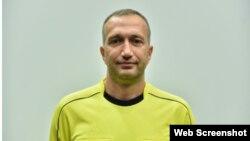 Юрий Вакс, футбольный арбитр из Крыма