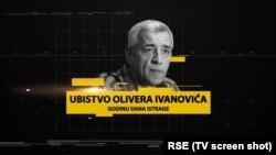 Godina od smrti Olivera Ivanovića, ubice nepoznate