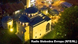 Ferhadija kimi tanınmış Ferhat Paşa Məscidi, Banja Luka, 23Sep2015