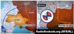 Як одна з груп сербів діставалася на окуповану територію