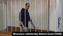 Ivan Safronov's hearing was held behind closed doors.