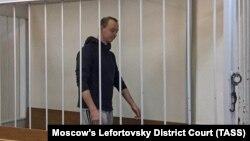 Ivan Safronov, la o audiere la tribunal în noiembrie November, 2020.