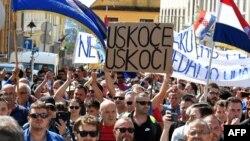 Štrajk radnika brodogradilišta Uljanik u Puli, fotoarhiv