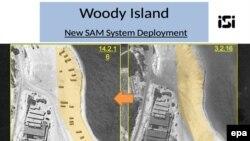 تصویر ماهواره ای که شرکت ایمج ست اینترنشنال از جزیره وودی منشتر کرده است