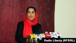 ملالی جویا عضو سابق ولسی جرگهء افغانستان