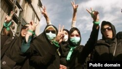 Rights activists say the situation of Iranian women deteriorated under outgoing President Mahmud Ahmadinejad. (file photo)