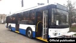 Троллейбус российского производства «Тролза».