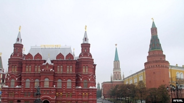 The Russian State Historical Museum on Red Square