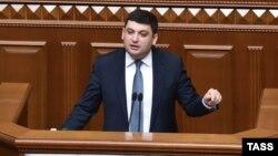 Новообраний прем'єр-міністр України Володимир Гройсман