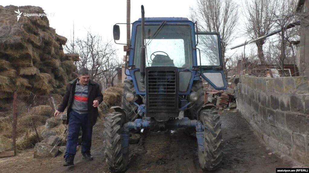Turkey Returns Tractor Stolen From Armenian Farmer
