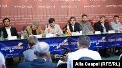Delegaţia ziariştilor iranieni