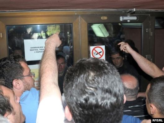 Protest ranika KAP-a, Fotografije uz tekst Savo Prelević