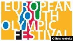 Logo Europskog olimpijskog festivala mladih (EYOF)