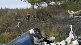 Forty-three people died in the crash