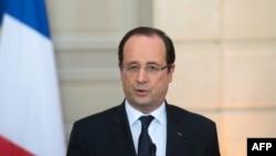 Presidenti i Francës, Francois Hollande - Foto Arkiv