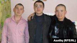 Артур Шәехов (с), Наил Газизов һәм Булат Газизов