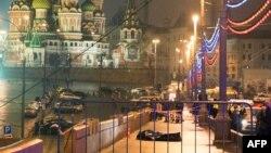 Место убийство Бориса Немцова.