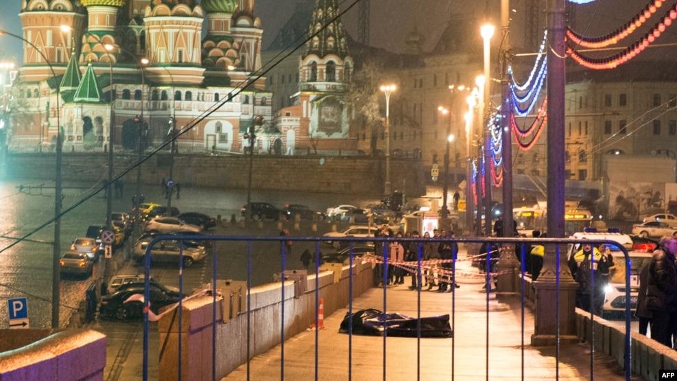 Место убийство Бориса Немцова