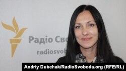 Журналіст Ольга Снісарчук («5-й канал») також є серед авторів звернення