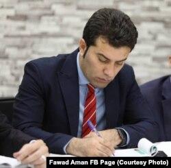 فواد امان به حيث معاون سخنگوی وزارت دفاع ملی افغانستان