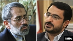 Said Mortazavi (right) will be replaced as Tehran prosecutor by Abbas Jafari Dolatabadi (left).