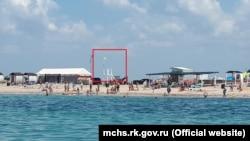 Відсутність рятувальників на пляжах Євпаторії