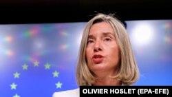 Shefja për Politikë të Jashtme dhe Siguri e BE-së, Federica Mogherini.