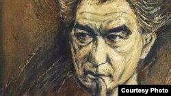 Портрет Чингиза Айтматова. Иллюстративное фото.