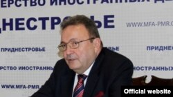 Сергей Губарев в Тирасполе. (Фото: mfa-pmr.org)