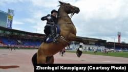 Женисгуль Каусылгазыкызы, живущая в Монголии этническая казашка, в прошлом сотрудник МВД страны.