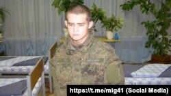 Солдат срочной службы Равиль Шамсутдинов