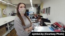 Каманда Symbal.by цяпер шые маскі для шматразовага выкарыстаньня