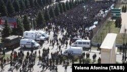 Акция протеста в Магасе