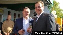 Alături de Marian Lupu, președintele Parlamentului