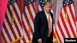 Кандидат впрезиденты США от Республиканской партии миллионер Дональд Трамп