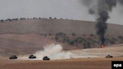 Suriya hökuməti Türkiyə silahlı qüvvələrinin müdaxiləsinə etiraz bildirib