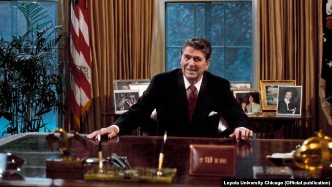 Ronald Reagan u Ovalnom uredu, Bijela kuća