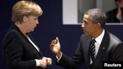 Обама будет добиваться от Германии использовать свое влияние, чтобы убедить Евросоюз пойти на более жесткие санкции