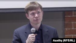 Архивное фото. Камиль Галеев читает лекцию в Казани в марте 2019 года