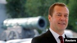 Kryeministri rus Dmitry Medvedev