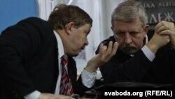 Сяргей Калякін і Аляксандар Мілінкевіч