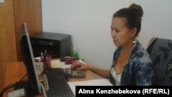 Айгерим Умышева, жительница Алматы. 23 июня 2015 года.